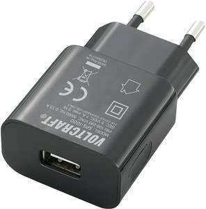 Hálózati USB töltő adapter, 1000mA,  Voltcraft VOLTCRAFT