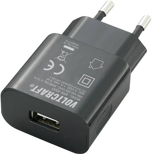 Voltcraft SPS-1000 USB-s hálózati adapter, 5V/DC 1000mA
