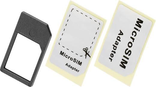 SIM kártya adapter, mikro SIM-ről SIM formátumra, Goobay 42944