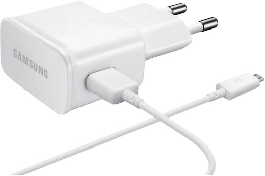 Samsung USB, Micro USB gyári hálózati töltő 2A-es, fehér színű ETA-U90EWEGSTD/OEM