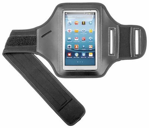 Átlátszó vékony tok Samsung Galaxy S2-höz, fekete, goobay