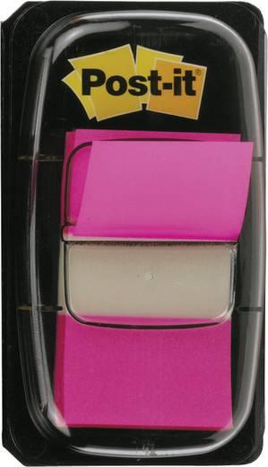 Post-it® Index (H x Sz) 43.2 mm x 25.4 mm, rózsaszín műanyag I680-21 3M, tartalom: 1 db