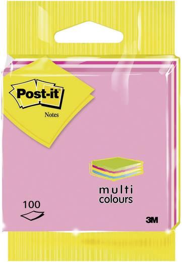 Post-it® Notes (H x Sz) 76 mm x 76 mm, rózsaszín, Rózsa 6820RBST 3M, tartalom: 1 db