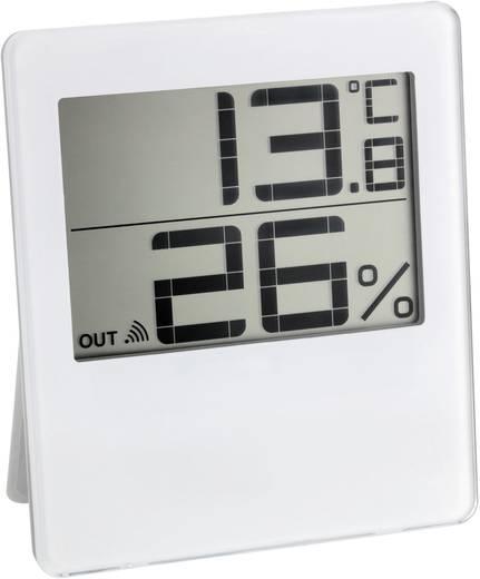 Vezeték nélküli hőmérséklet- és légnedvesség mérő, fehér, TFA Chilly