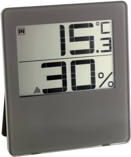 Vezeték nélküli hőmérséklet- és légnedvesség mérő, barna, TFA Chilly