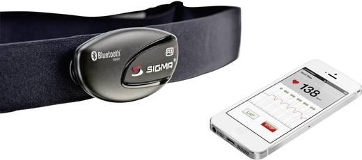 Bluetooth mellkaspánt, mellkasöv Smart telefonokhoz Brustgurt Sigma R1 Blue