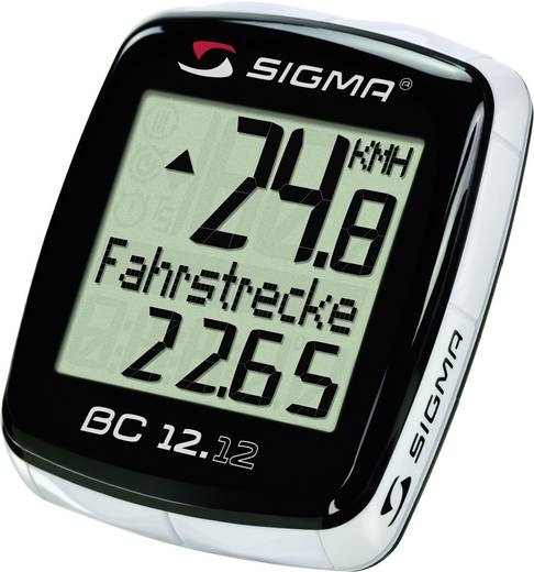 Kerékpár komputer, SIGMA BC 12.12