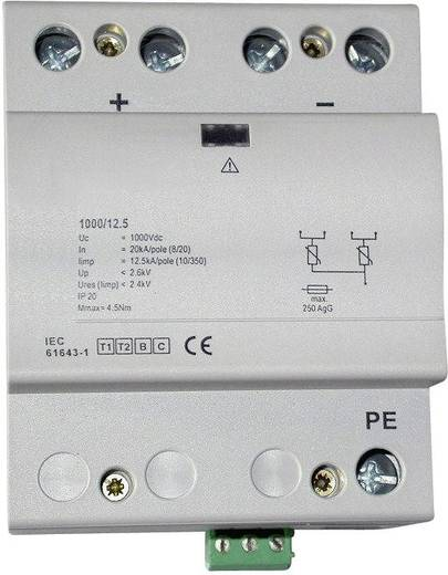 Túlfeszültség levezető napelemes berendezésekhez, ESKA B-PV 1000/12,5 RC