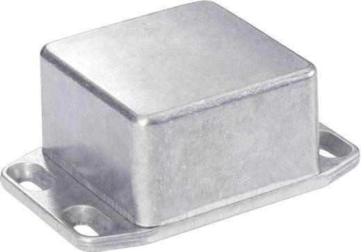 Műszerdoboz, 51X51X31 mm, alumínium, peremmel