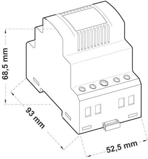 Kalapsín tápegység, 20VA-24VAC