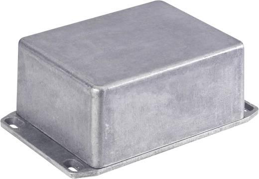 Hammond Electronics alumínium présnyomással készült doboz 1590QFLBK, 120 x 120 x 32 mm, fekete