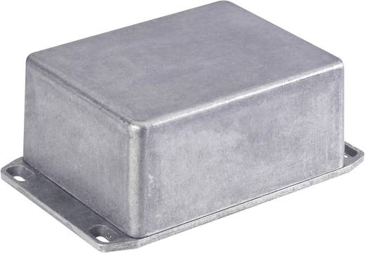 Hammond Electronics alumínium présnyomással készült doboz 1590SFLBK, 111 x 82 x 44 mm, fekete