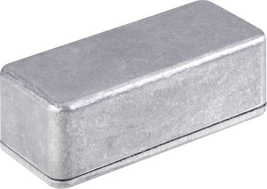 Műszerdoboz, 112X60X31 mm, IP65, alumínium, peremmel