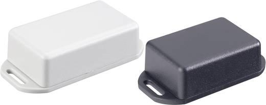 Műanyag ház rögzítőfüllel 50x35x20 mm fekete Hammond Electronics 1551GFLBK