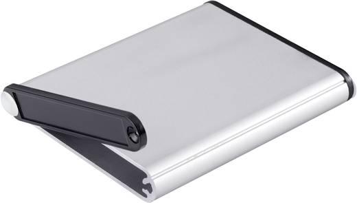 Műszerdoboz, 100x70x12 mm, alumínium/műanyag