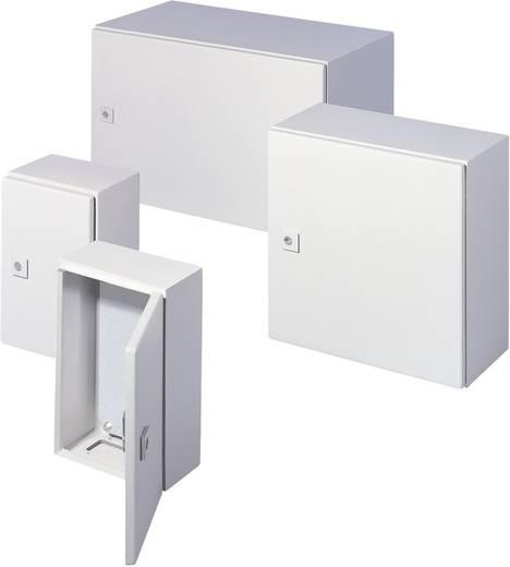 Kapcsolószekrény 300 x 300 x 210 Acéllemez Szürke-fehér (RA