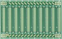 WR Rademacher laborkártya, kétoldalas, 128 x 203,2 x 1,5 mm, C-940 (C-940) Rademacher