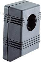 Dugasz műszerdoboz 126 x 75 x 53 mm, műanyag, fekete, Tru Components TC-SG722 SW203 (1588639) TRU COMPONENTS