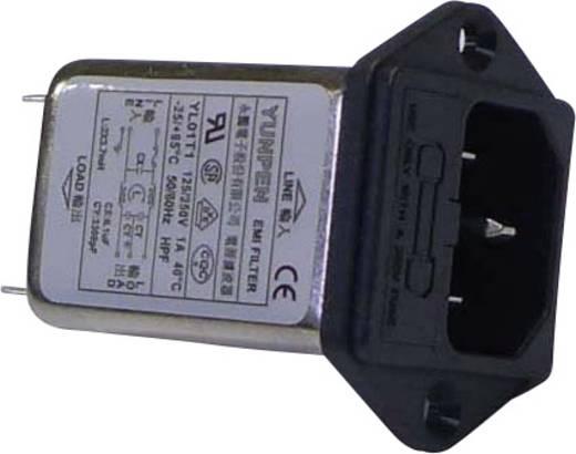 Zavarszűrő műszercsatlakozó dugóval 1A 250V