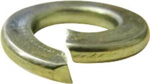 Horganyzott acél rugós alátét M2,5, DIN 127, 100 db, Toolcraft  TOOLCRAFT