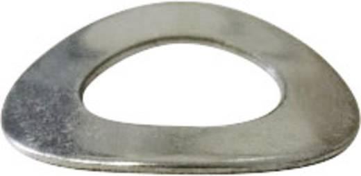 Toolcraft rozsdamentes feszítőalátét M2, DIN 137 V2A, 100 db