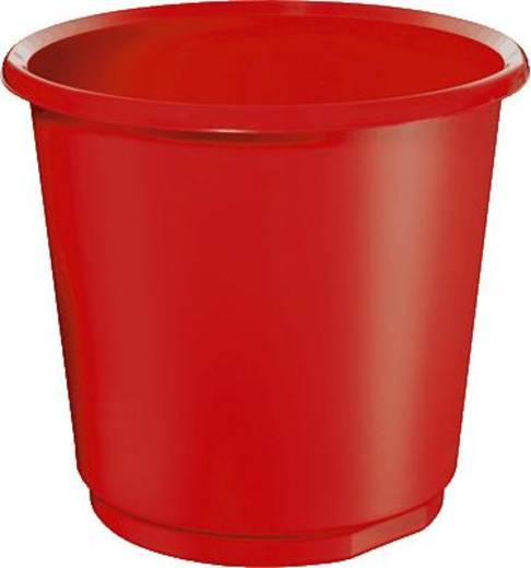 Papírkosár, 18 l, piros, 5 Star