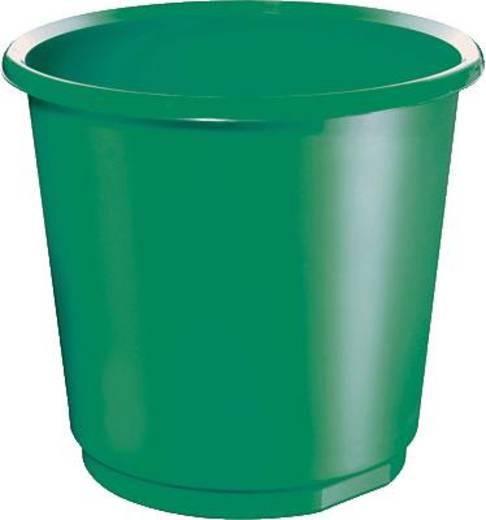 Papírkosár, 18 l, zöld, 5 Star