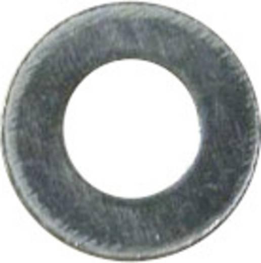 Lapos alátét DIN 125 ZN B 3.2, 100 részes