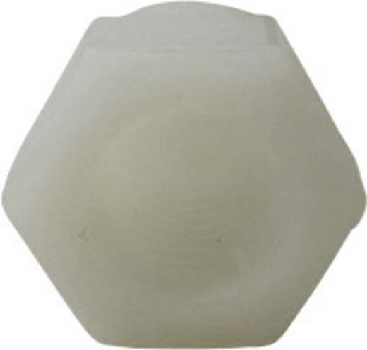 Toolcraft poliamid hatlapú kalapos anya M3, DIN 1587, 10 db