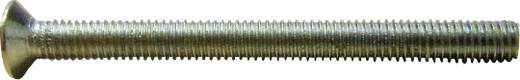 Toolcraft süllyesztett fejű, PH kereszthornyú csavar, horganyzott acél, M4 x 6 mm, DIN 965, 100 db 521712
