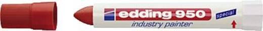 Marker permament jelölő filc, piros Edding 950/4-950002