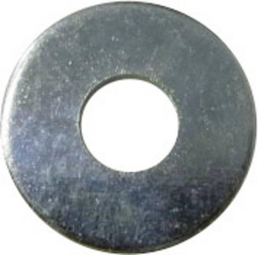 Toolcraft horganyzott acél alátét, M2,5 DIN 9021, 100 db