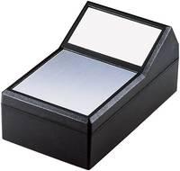 Pultos műszerdobozok 145 x 85 x 73 ABS, Alumínium Fekete, Ezüst TEKO 790.9 1 db TEKO