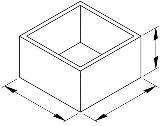 OKW Modulház PA 6.6 (H x Sz x Ma) 22.3 x 22.3 x 14 mm Fekete