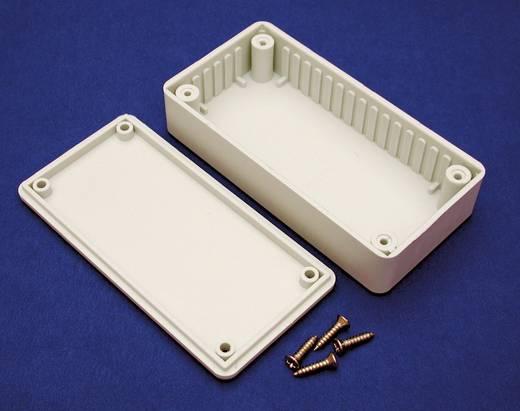 Hammond Electronics projekt műanyag műszerház, 120x80x59 mm, szürke, BOXTGY