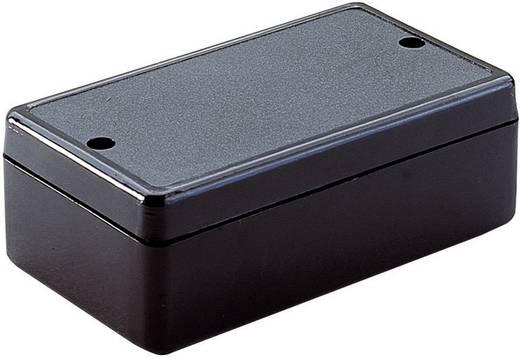 Univerzális műszerdobozok ABS Fekete 80 x 61 x 23 Strapubox KUNSTSTOFF-GEHAEUSE 2029 SCHWARZ 1 db