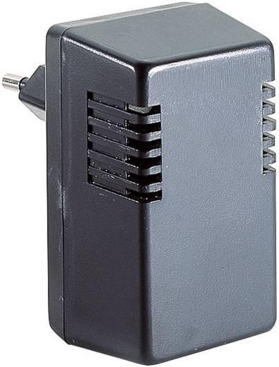 Dugaszolható műszerdobozok 37 x 43 x 73.5 ABS Fekete