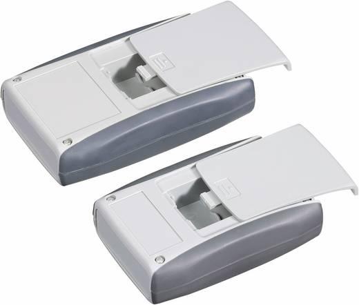 Műanyag kézi műszerdoboz, 110 x 63 x 28 mm, szürke, Pactec PPL-2AA