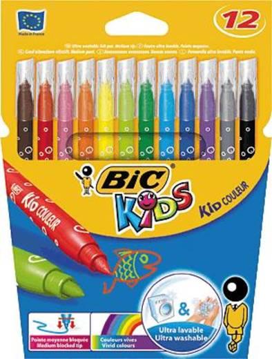 Filckészlet, 12 részes, BIC Kids Kid Couleur/841798