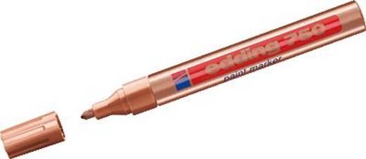 Lakk jelölő, réz színű, Edding 750/4-750055