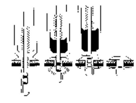 PB Fastener R-LOK műanyag vak szegecs 4.9 x 25.0 x 51.0 x 1.8 x 2.9 x 12.0 Lemezméret 6.0 - 10.0 mm PA 6.6/POM Fekete