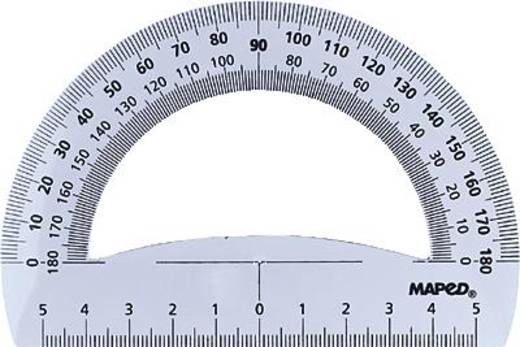 Műanyag szögmérő 180° 12cm Maped M146134