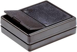 Univerzális műszerdobozok 80 x 61 x 23 ABS Fekete 1 db, Strapubox 6029  Strapubox