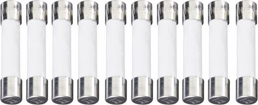 ESKA UL-üvegcsöves biztosíték 6,3 x 32 mm -T- UL632.308 250 V 125 mA Lomha -T- Tartalom 10 db