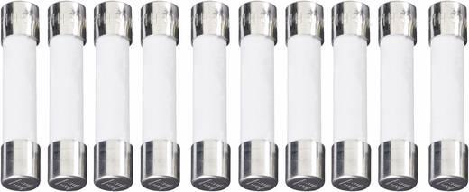 Kerámiacsöves biztosíték, lomha T 6,3 x 32 mm 6,3 A 500 V 10 db, ESKA 632.725