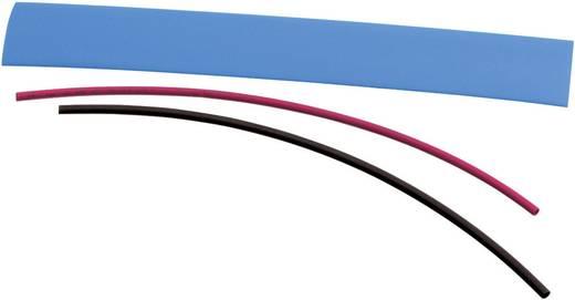 Zsugorcső készlet, DERAY-HØ (zsugorodás előtt/után): 19 mm/9.5 mm, 1 szett, piros