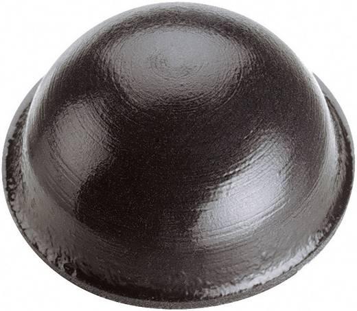 Készülék láb Öntapadó, Kerek Fekete (Ø x Ma) 19 mm x 9.6 mm