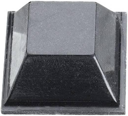 Öntapadós műszerláb, 12,7 x 12,7 x 5,8 mm, fekete, 3M SJ 5018