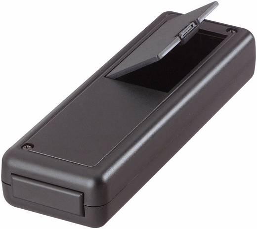 Kézi műszerdoboz ABS műanyag 135 x 44 x 24 mm, szürke, Strapubox 6094