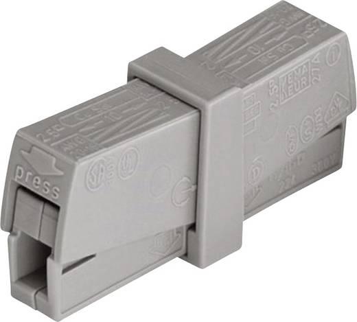Lámpa vezetékösszekötő 2 vezetékes, 0,5 - 2,5 mm² 16A, szürke, 1 db, WAGO 224-201